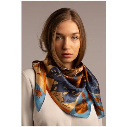 Shop Art Silk Scarf Ilona Tambor