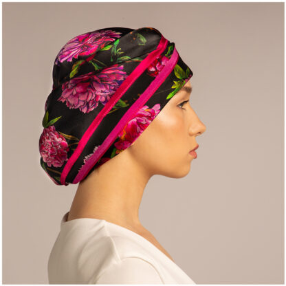 Art silk scarf Peonies