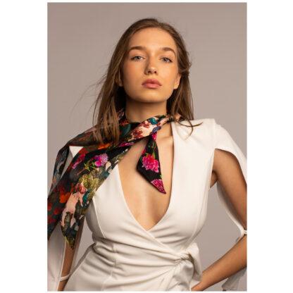 Art silk twilly scarf