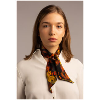 Art silk twilly scarf Ilona Tambor