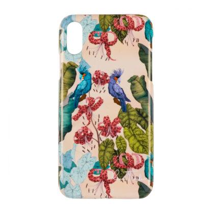iphone case Ilona Tambor The Tropical Paradise Powder Pink