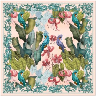 Tropical Paradise Silk Scarf