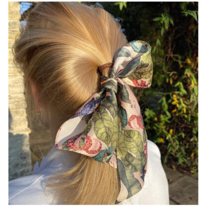 silk twilly scarf Ilona Tambor