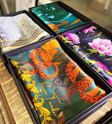 Art Silk scarves