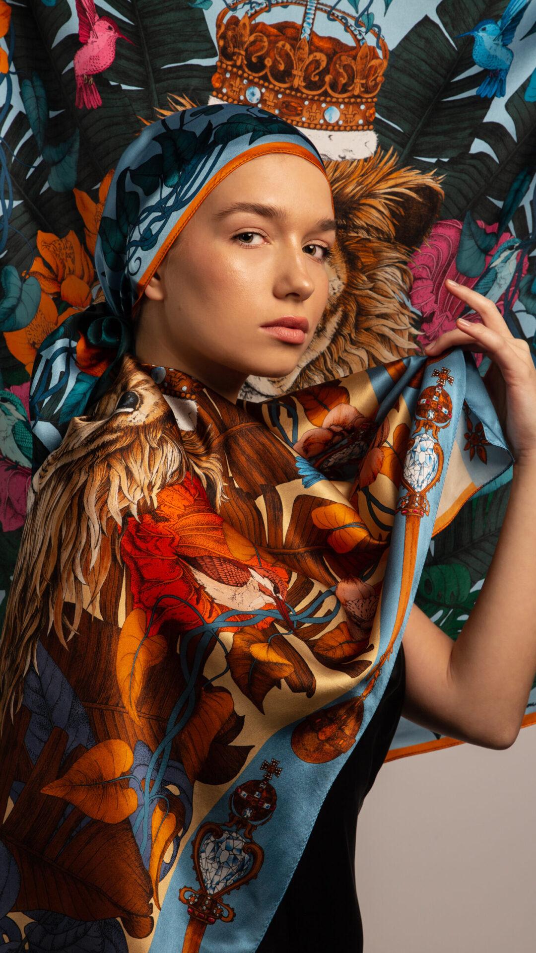 Ilona Tambor Art Silk Scarves