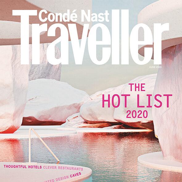 Conde Nast Traveller June 2020 Cover