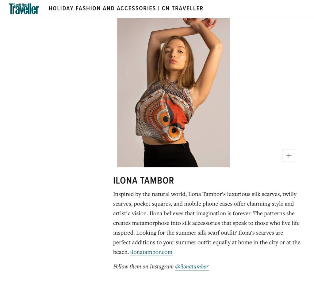 Fashion and Accessoriess Ilona Tambor