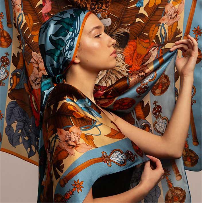 silk scarves collection ilona tambor buy silk scarves uk