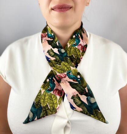 Silk Ribbon Scarf
