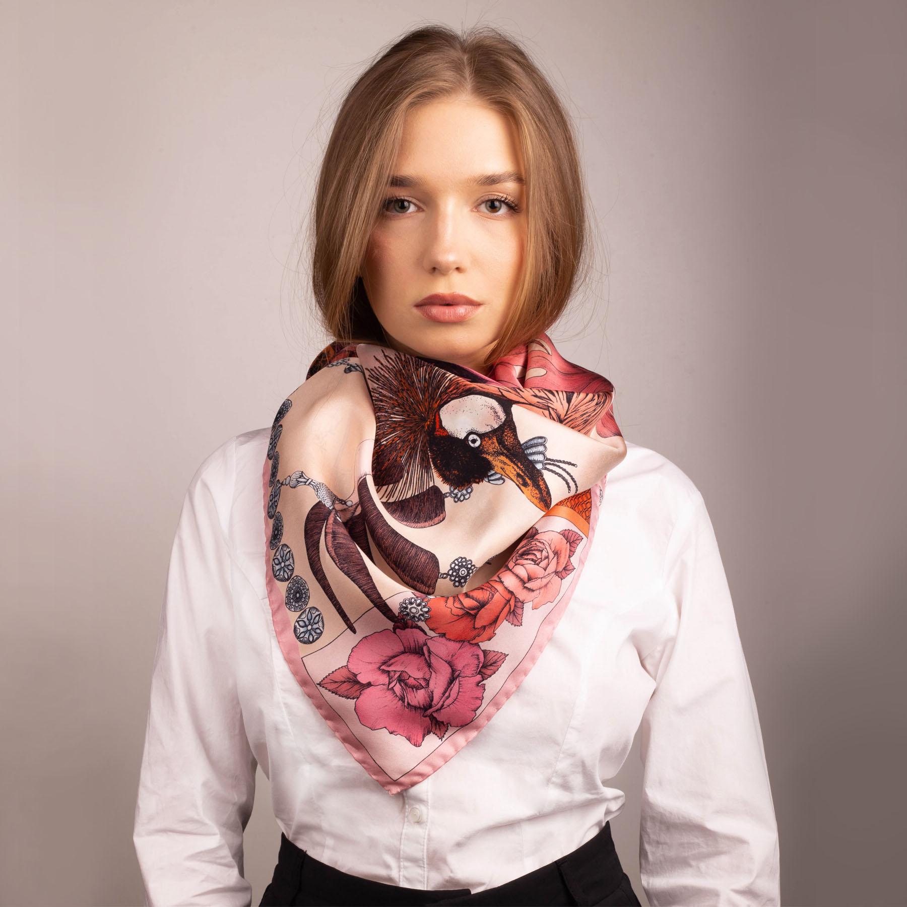 Art Silk Scarf Ilona Tambor