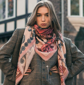 Wool Silk Scarves Collection