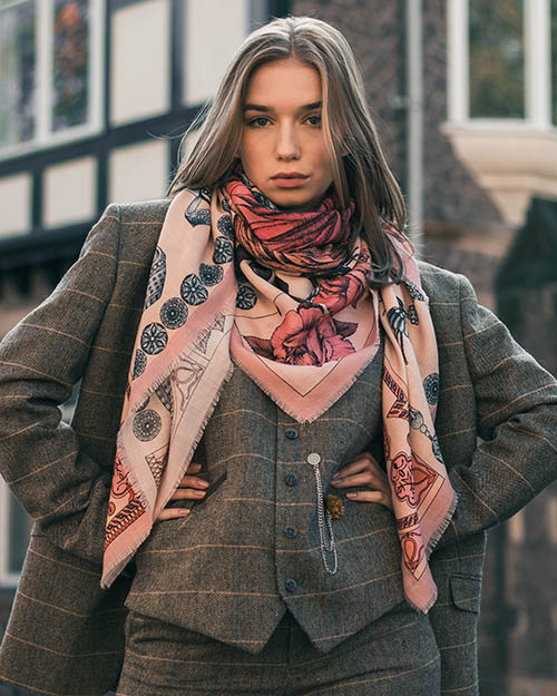 Wool Silk Scarves Collection Ilona Tambor