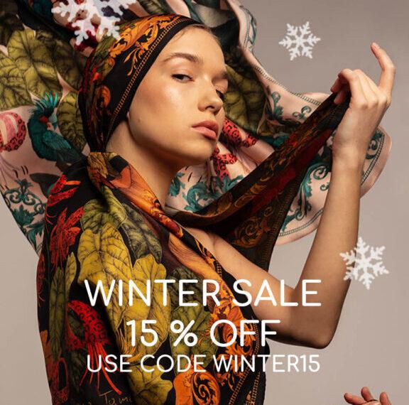 Scarve Winter Sale Ilona Tambor