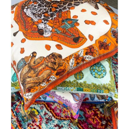 Luxury Silk cushion Ilona Tambor