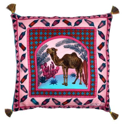 Ilona Tambor art silk cushions 2020 collection