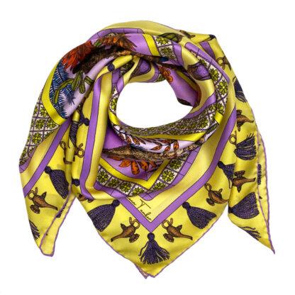 Ilona Tambor art silk scarves 2020 collection