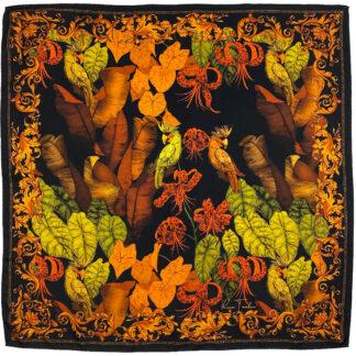The Tropical Paradise Silk Scarf