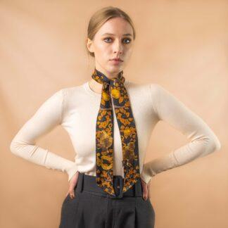 Twilly scarf gold Ilona Tambor
