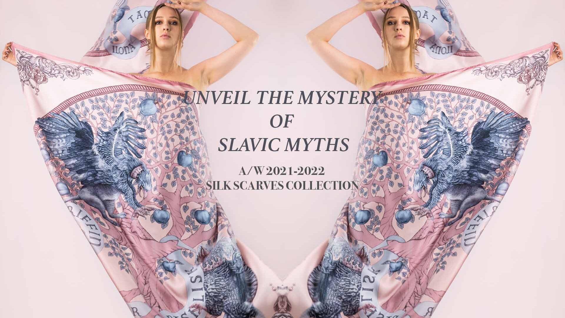Ilona Tambor A/W 2021 Silk Scarf Collection
