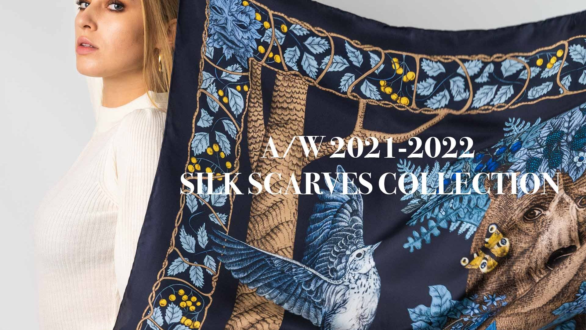AW 2021 Silk Scarves Collection
